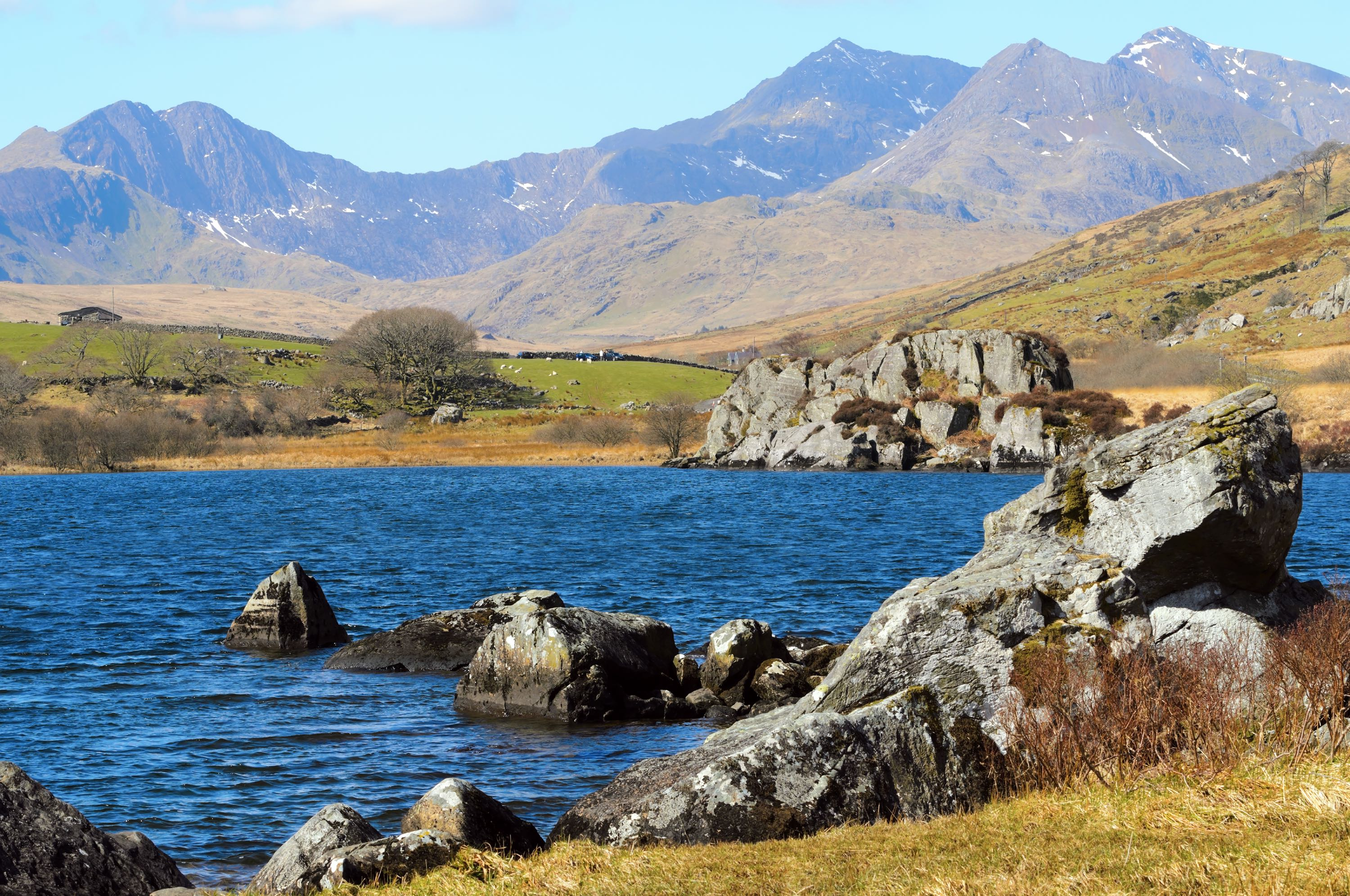 The Snowdonia National Park Snowdonia In Wales