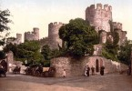 Photochrom - Conwy-Castle