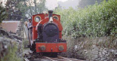 The Corris Railway in October 1996