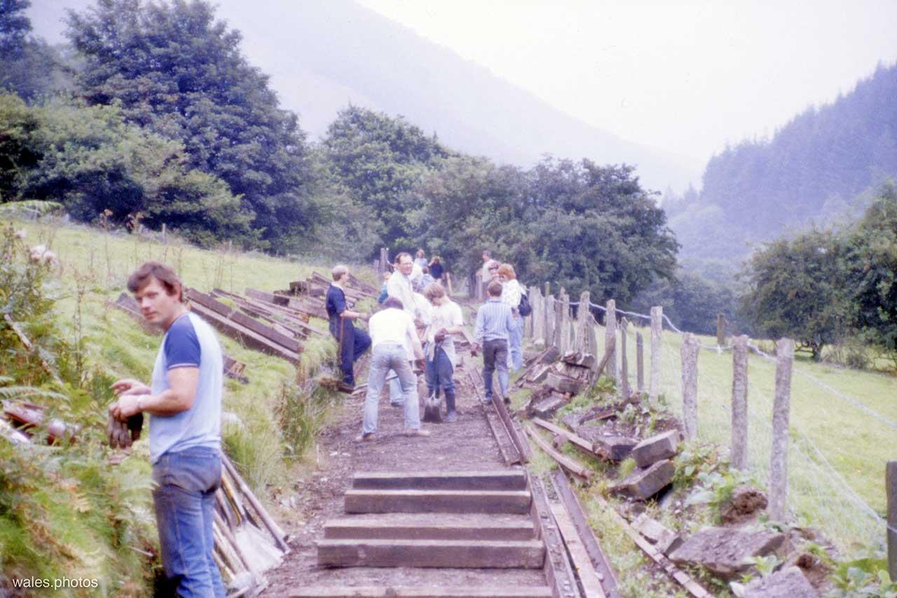 The Corris Railway in 1987