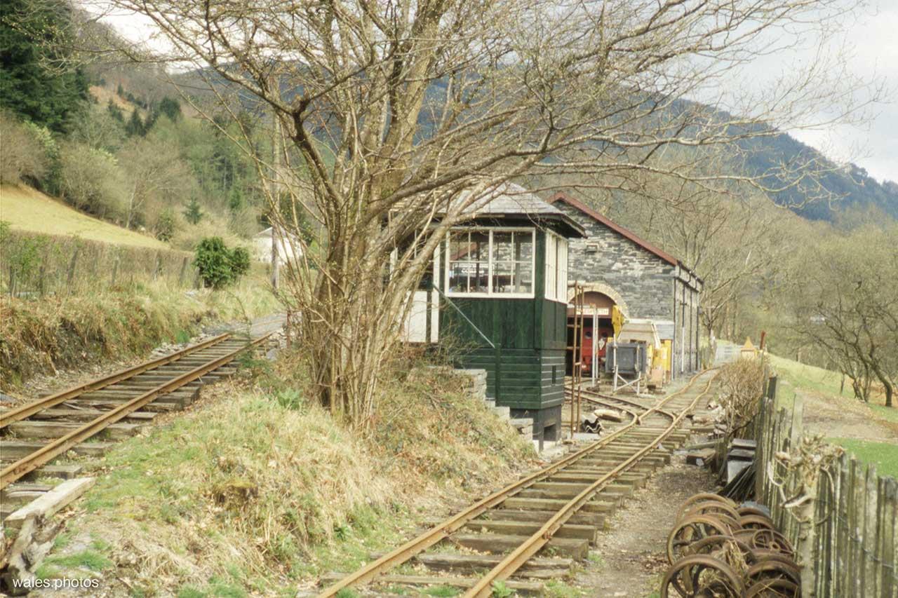 The Corris Railway in June 1999