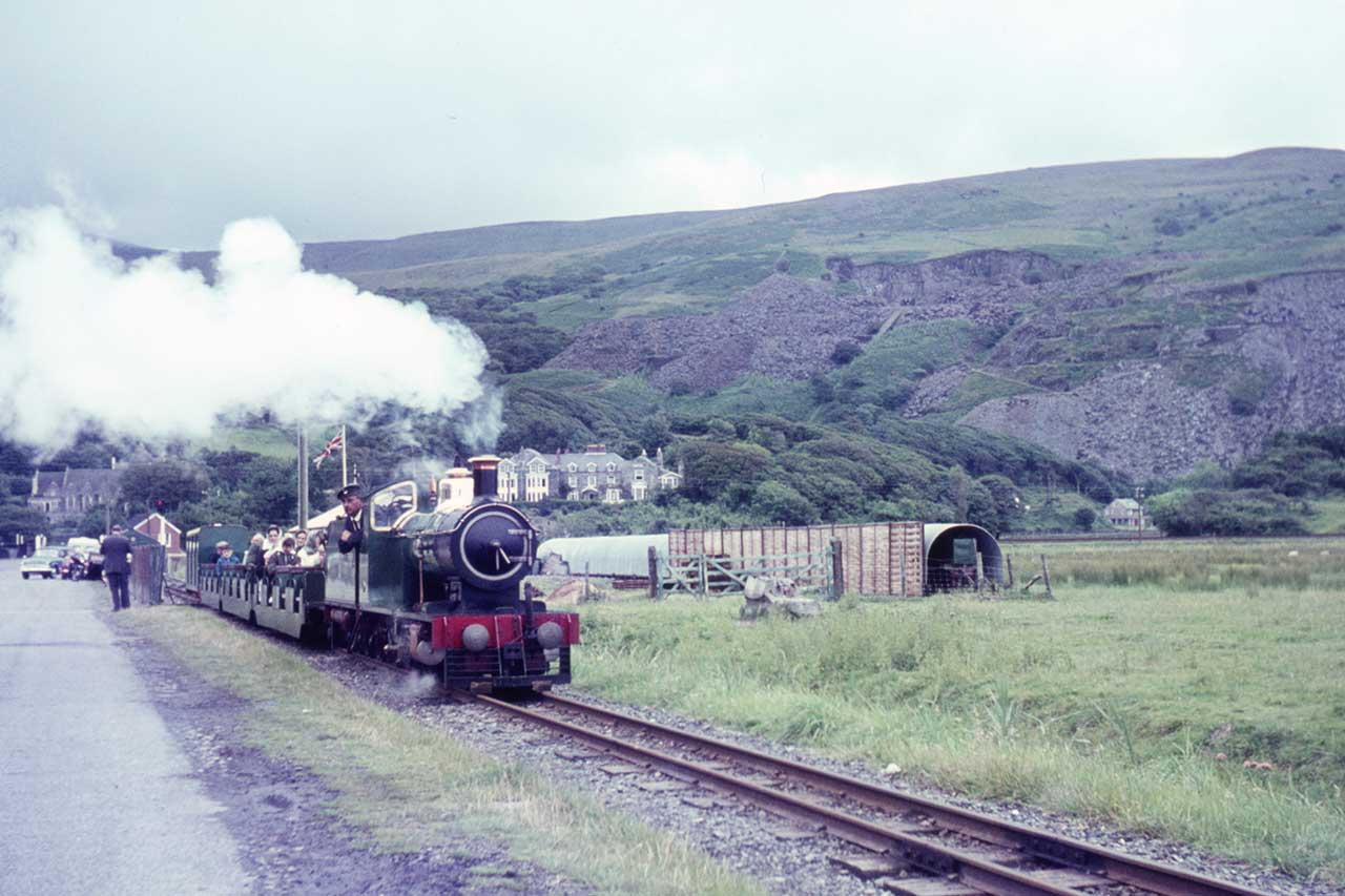The Fairbourne Railway in the 1960s