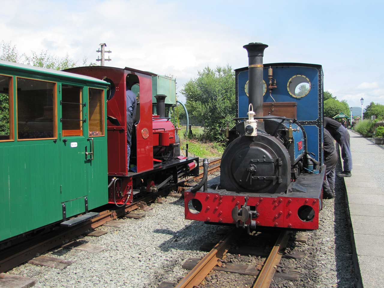 The Welsh Highland Heritage Railway - Photo © Mike Chapman