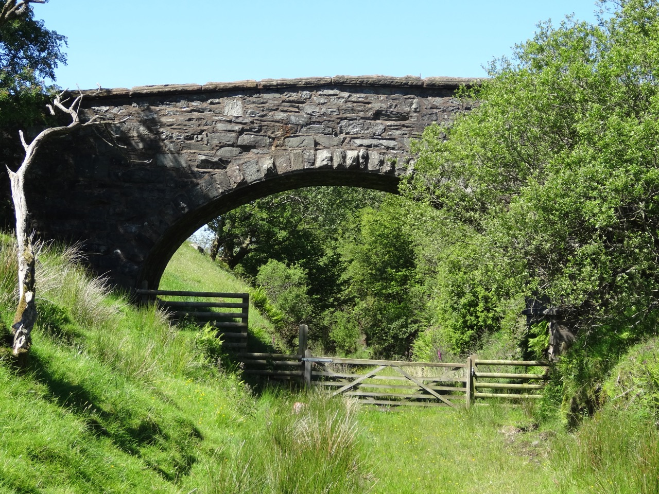 Bryn Celynog Bridge at Cwm Prysor, near Trawsfynydd