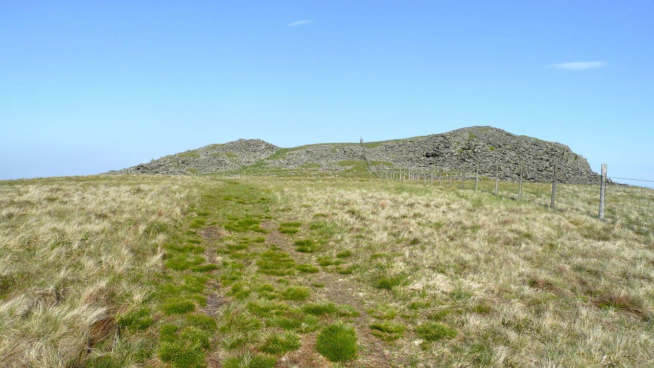 Carnedd Lwyd Cairns on Cader Idris, Snowdonia