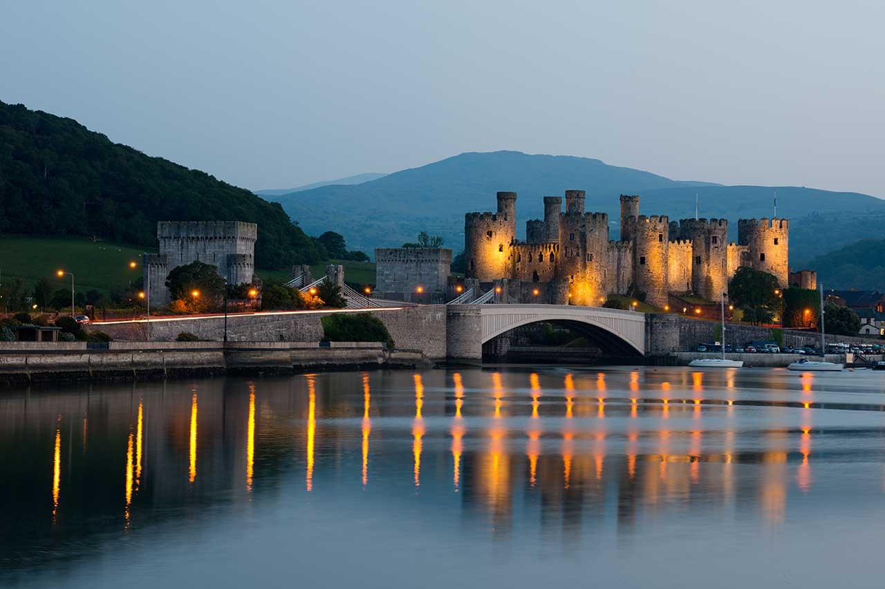 Conwy at Night