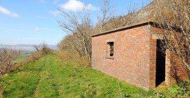 Disused Railway Building at Cwm Prysor, near Trawsfynydd