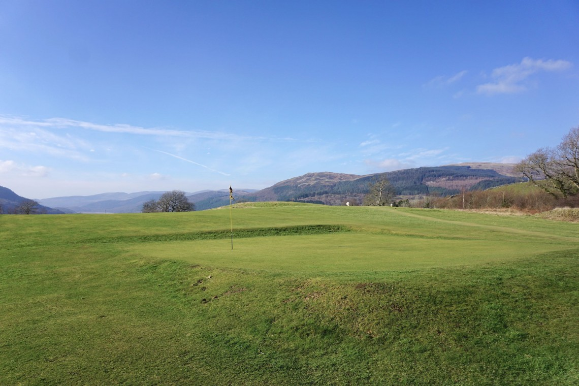 The Old Dolgellau Golf Course (February 2015)