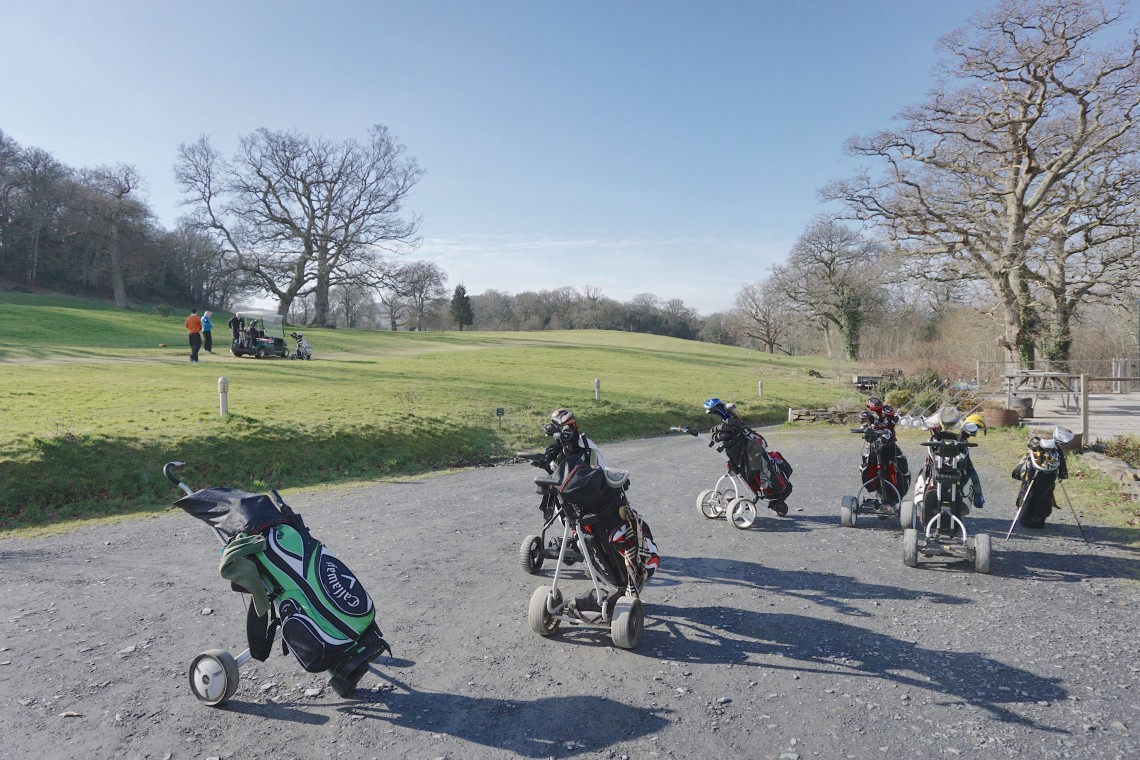 The Old Dolgellau Golf Course (February 2015)