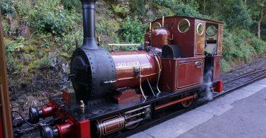 The Talyllyn Railway - Dolgoch Loco at Abergynolwyn Station