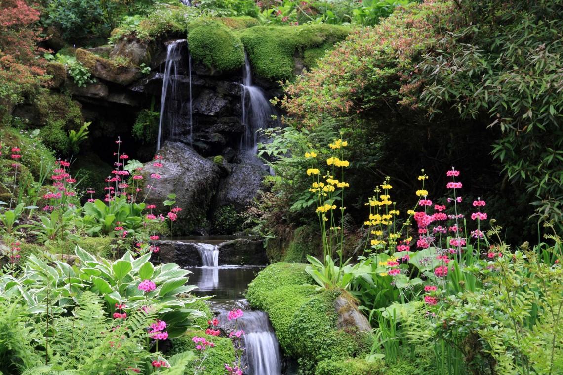 Waterfall at Bodnant Garden