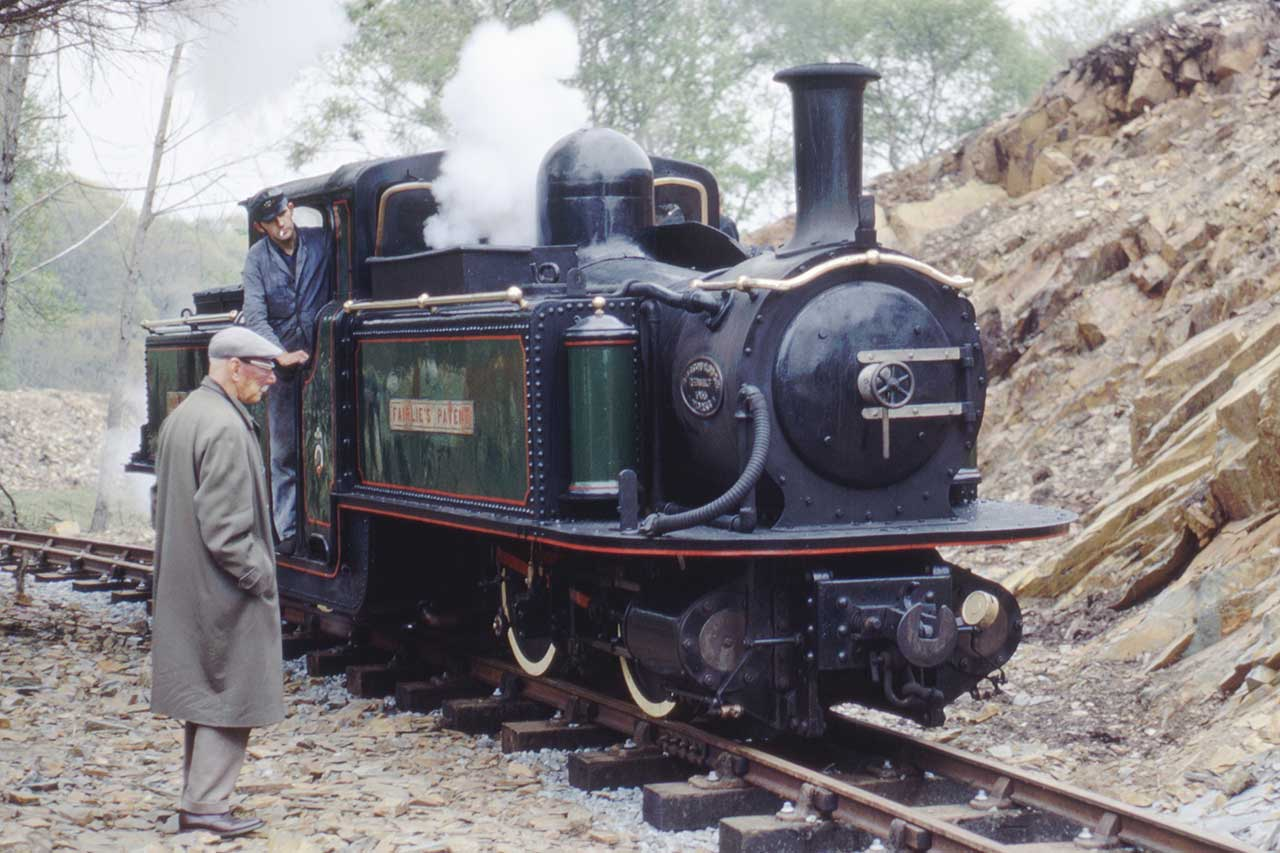 Fairlie Patent Engine in 1968