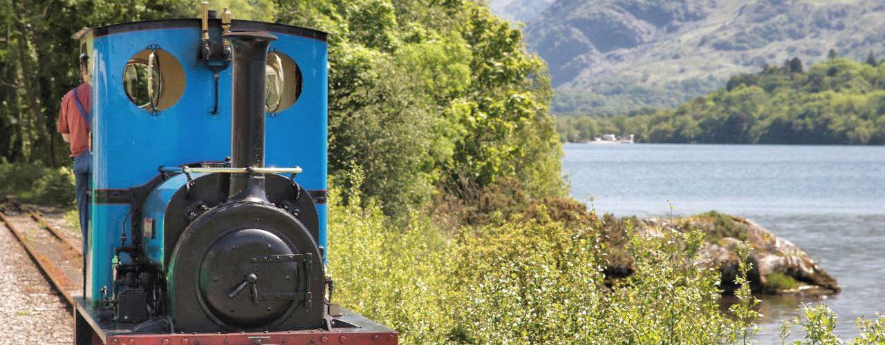 Llanberis Lake Railway and Llyn Padarn