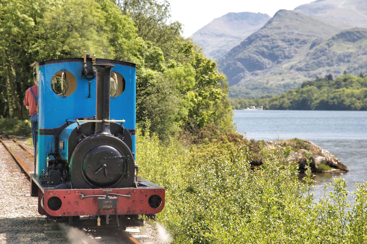 Llanberis Lake Railway and Llyn Padarn