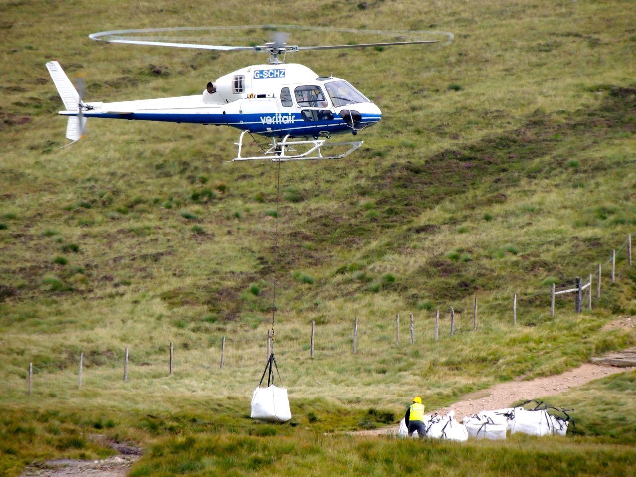 Maintaining the Footpath on Cader Idris, Snowdonia