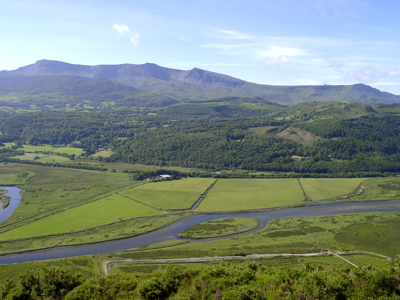 The Afon Mawddach from New Precipice Walk
