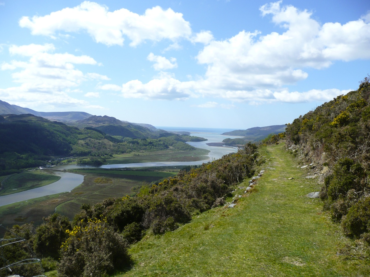 The Mawddach Estuary from New Precipice Walk