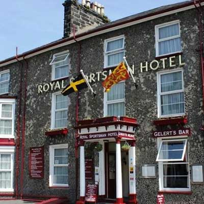 The Royal Sportsman Hotel in Porthmadog