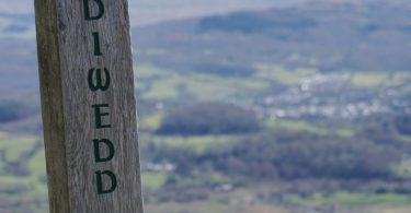 Sign at New Precipice Walk