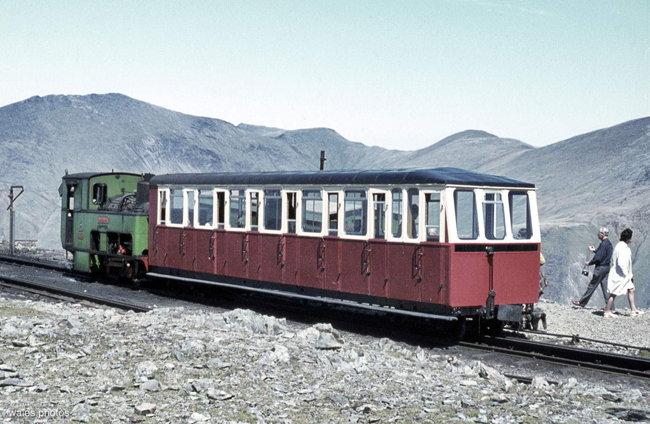 The Snowdon Mountain Railway c.1971