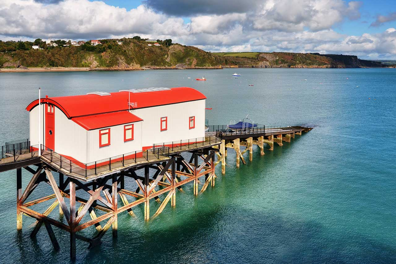Converted Lifeboat Station, Tenby