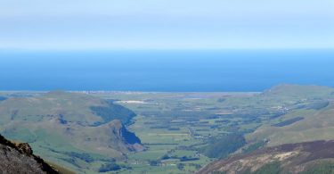 The Dysynni Valley from Cader Idris