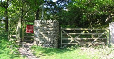 The Entrance to Castell y Bere