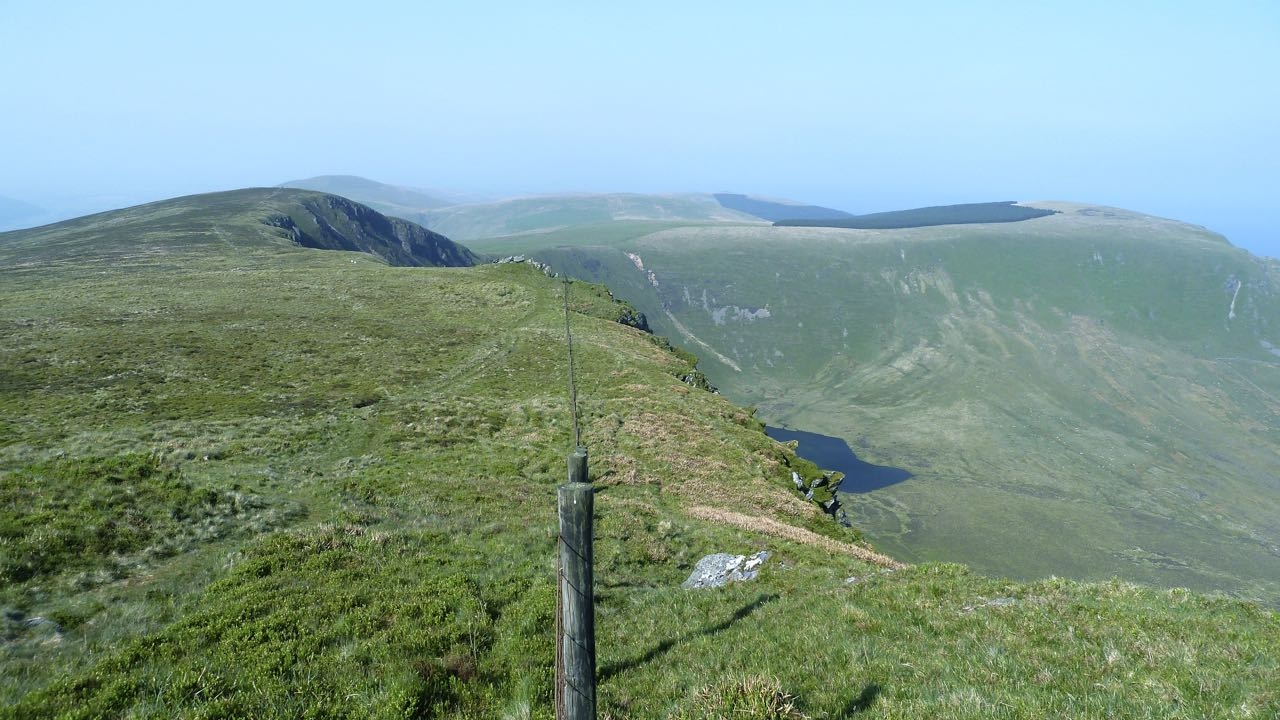 View Over Llyn Cyri to Braich Ddu, Cader Idris