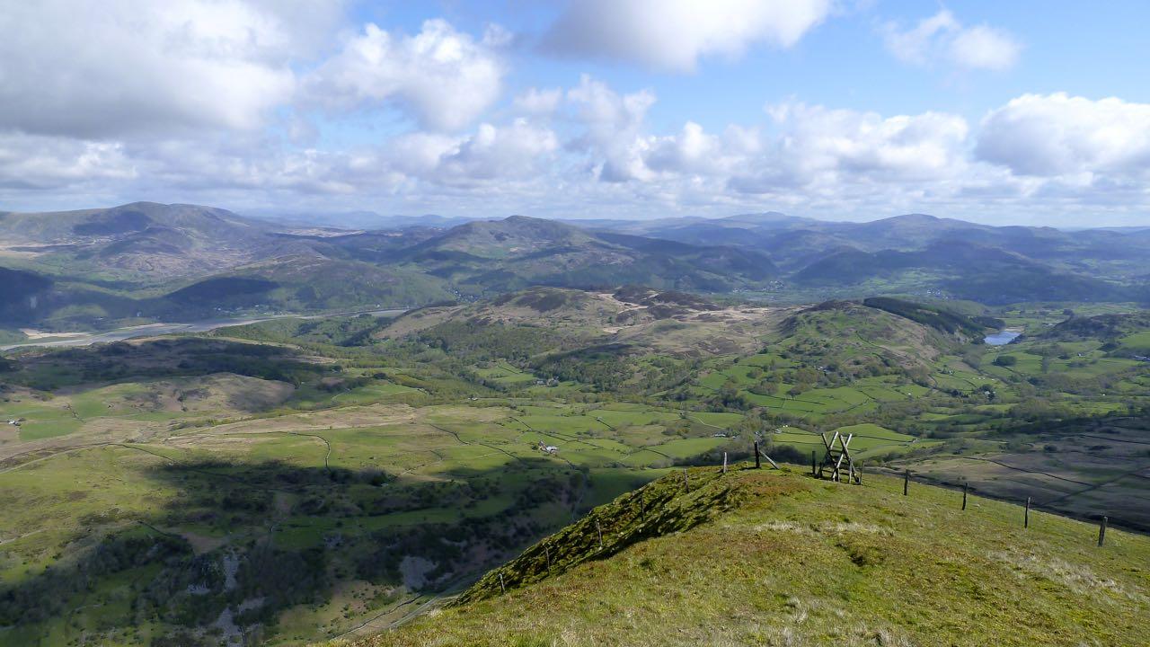 View from Tyrau Mawr, Cader Idris