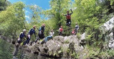 Canyoning in Snowdonia
