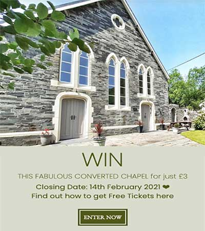 Win a Dream House in Abergynolwyn, Wales Competition